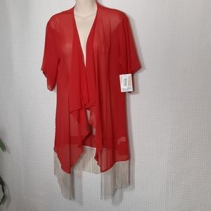 NWT LuLaRoe Monroe Boho Open Cardigan Kimono S